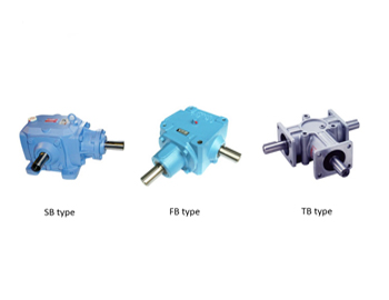 Bevel Gear Boxes Types